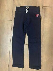 Osh Kosh navy sweat pants size 7 GUC