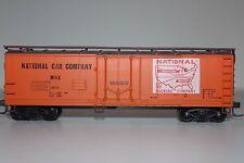 HO Train Miniatures National Packing Car Company 40' Billboard Reefer 2421 Y1508