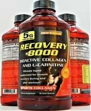 Recovery 8000 Bioactive Liquid Collagen and L-Carnitine Sports collagen 16 onz