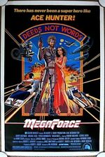 MEGAFORCE Orig. (1982) 27x41 Movie Poster BARRY BOSTWICK  ROLLED MINT CONDITION!