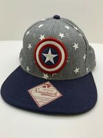Marvel Captain America Logo Hat OneSize Original Snapback Baseball Cap RN#115665