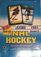 "1991 SCORE SERIES 2 NHL HOCKEY ""BILINGUAL EDITION"" 36 PACK TRADING CARD BOX!"