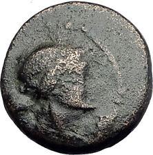 SARDES in Lydia 133BC Authentic Ancient Greek Coin APOLLO & HERCULES CLUB i62701