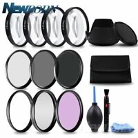 49 52 55 58 62 67 72 77MM Macro Filter + UV CPL FLD + ND2 4 8 Camera Lens Filter