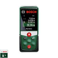 Bosch Laser Range Finder Bluetooth 40 Meters measure&go app compact PLR 40 C