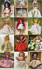 Lot of 11 Vintage Nancy Ann Storybook Dolls including 1 Nrfb + 2 Bonus Dolls