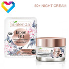 Bielenda JAPAN LIFT Firming Antiwrinkle NIGHT Face Cream 50+ Mature Skin 50ml