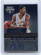 2014-15 TOTALLY CERTIFIED #C-ADA ANTHONY DAVIS AUTOGRAPH #2/49, PELICANS, 122317
