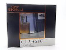 CLASSIC  60ml AFTERSHAVE & 200ml SHOWER GEL GIFT SET BY DAVID BECKHAM