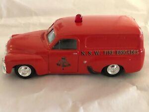Trax 8003 Holden FJ van NSW Fire Brigade 1:43 scale