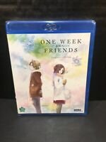 One Week Friends - Complete Collection (Blu-ray, 2-Disc Set) Anime Series NEW