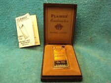 Vtg Flamex Butane Cigarette Lighter Looks Like Argor 999.9 Gold Bar Ships Free