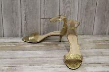 Nine West Leisa Heels - Women's Size 7.5 M, Gold