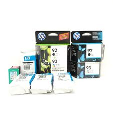 HP 92 93 lot of expired ink cartridges ALL EXPIRED