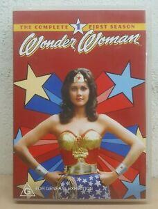 Wonder Woman Season 1 Series One (DVD SET) 1975 Original - Massive OVER 10 HOURS