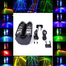 New 60W 8x3W RBGW DMX512 Mini Spider Beam Stage Light DJ Disco Ball Party Lights