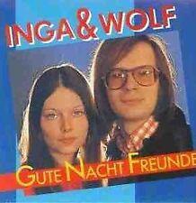 Inga & Wolf - Gute Nacht Freunde CD Neu Auf ein Bier Großstadtnacht Glühwürmchen