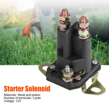 12V 3 Pole Starter Solenoid Swith For MTD 109946 146154 1753539 AM138497 Black