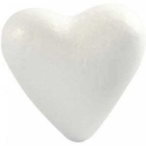 Polystyrene Heart Shaped 22cm Craft Wedding Decoration Florist Making Sake