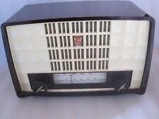 poste de radio bakélite TSF BX236U/63  vintage receiver Philips