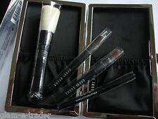 Bobbi Brown Edición Limitada Mini Cepillo Set X 4 BNIB & Funda Original BNWT Ltd Ed