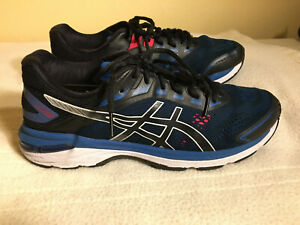 ASICS GT-2000 Men's Size US 10 - Running Shoes Black Blue EU 43.5