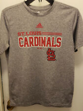 St Louis Cardinals Adidas MLB Baseball T-Shirt Boys Youth Large 14 - 16