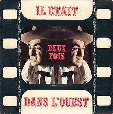 """45 T EP  MAX FOURNIER """"IL ETAIT DEUX FOIS DANS L'OUEST"""" (LABEL JBP)"""