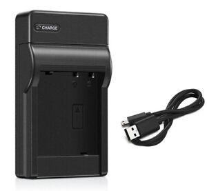 Battery Charger for Panasonic Lumix DMC-TZ1, DMC-TZ2, DMC-TZ3 Digital Camera