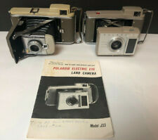 Polariod Land Camera Lot Of 2 80A And J33 With Manual Photography Instamatic