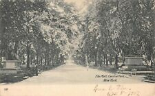 The Mall Central Park New York City Antique 1907 Undivided Back Postcard E12