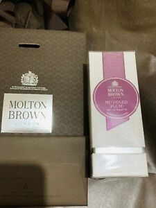 MOLTON BROWN Muddled Plum Eau de Toilette 50ml Edt Xmas Perfume +Giftbag ~BN NEW
