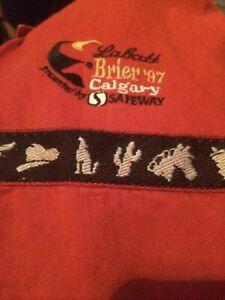 LABATTS BRIER Shirt 1997 Calgary