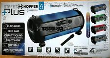 STREET HOPPER 6 PLUS SOUNDSTREAM WIRELESS BLUETOOTH MICROPHONE PORTABLE SPEAKER!