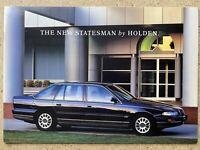 1994 Holden Statesman original Australian sales brochure