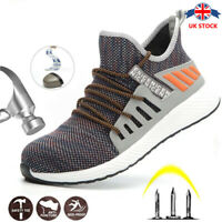 Mens Lightweight Safety Shoes Trainers Steel Toe Work Boots Hiking Sneakers boot