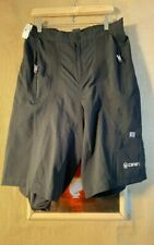 canari men's black padded cycling short size L