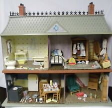 Madeline Old Doll House In Paris, Furniture,6 Dolls, Accessories + House Info.