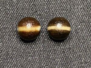ANCIENT TIBETAN Bhagavate Bhaisajya Medicine Buddha line of beads 14mm × 2p