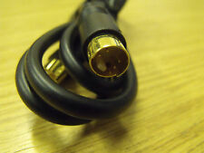 1m SVHS Plug to SVHS Plug Gold Connectors Video lead Cable
