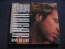 CD SINGLE DIGIPACK PROMO SAMMY HAGAR - GIVE TO LIVE usa / excellent état