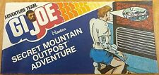 VINTAGE GI JOE HASBRO MINI COMIC GIVEAWAY PROMO 1975 SECRET MOUNTAIN OUTPOST NM