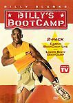 Billy Blanks - Lower Body Bootcamp/Cardio Bootcamp Live (DVD, 2006, 2-Disc Set)