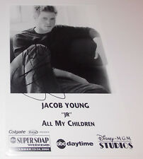 Jacob Young Autograph Reprint Photo 9x6 All My Children 2004 Bold Beautiful GH