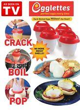 Cuiseurs à œufs Hard /& Soft Oeuf sans coquille 1-12 pcs Non Stick Egg bouillir Cup
