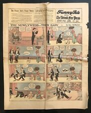 Antique June 26, 1910 Chicago Inter Ocean Newspaper Comic,The Newlyweds,Ophelia