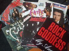 "6 Rock 12"" Singles Mindfunk, Cult, Judas Priest, Rock Goddess, Enuff Z'Nuff etc"