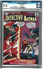 DETECTIVE COMICS #361 CGC 7.5 (3/67) white pages