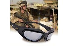 Daisy C5 Military Goggles 4 Lenses Outdoor Tactical Eyewear Polarized Sunglasses