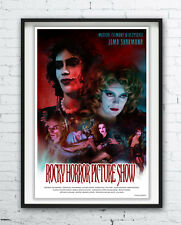 THE ROCKY HORROR PICTURE SHOW - polish poster / print Frank-N-Furter / photo